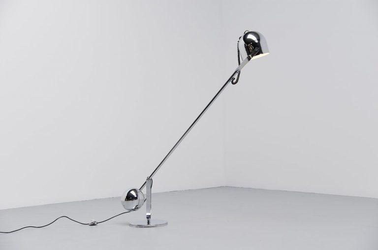 Sergio Asti airone floor lamp Italy 1967