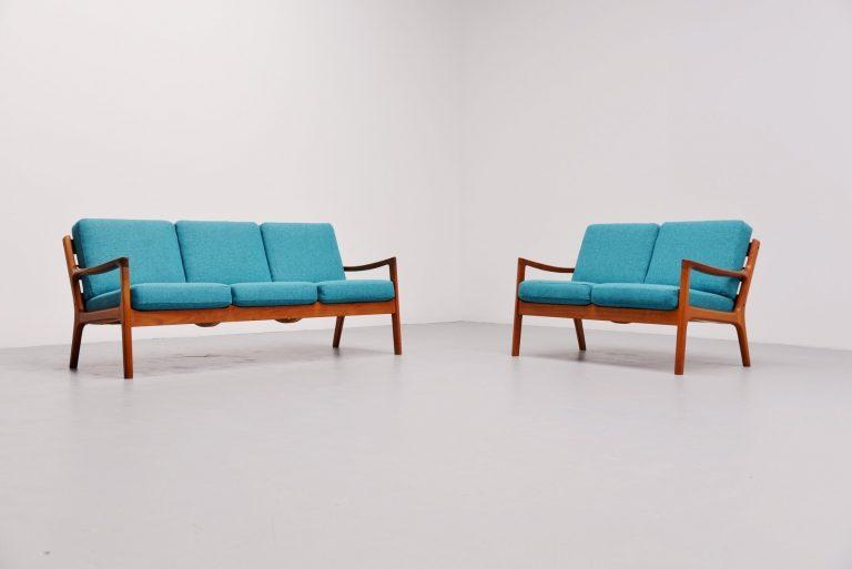 Ole Wanscher Senator sofa set Cado Denmark 1951