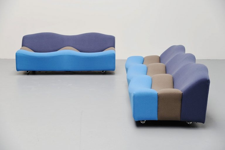 Pierre Paulin ABCD sofa set Artifort 1968