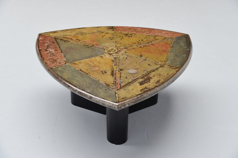 Marcus Kingma artwork coffee table Holland 1990