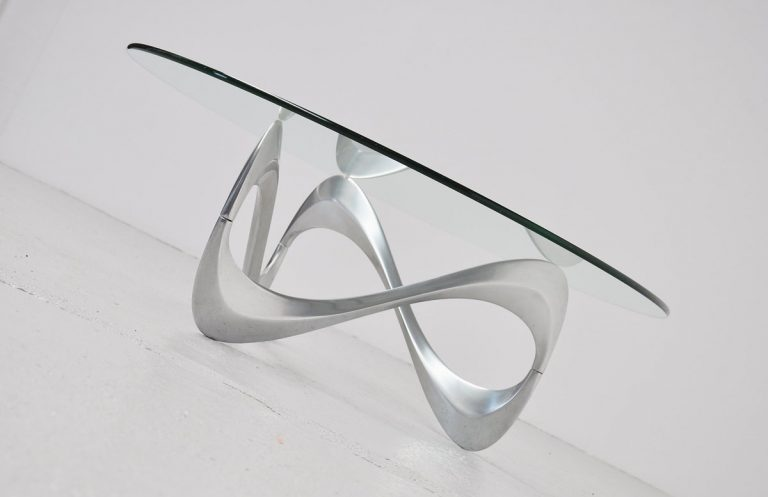 Knut Hesterberg snake cocktail table Roland Schmitt 1965