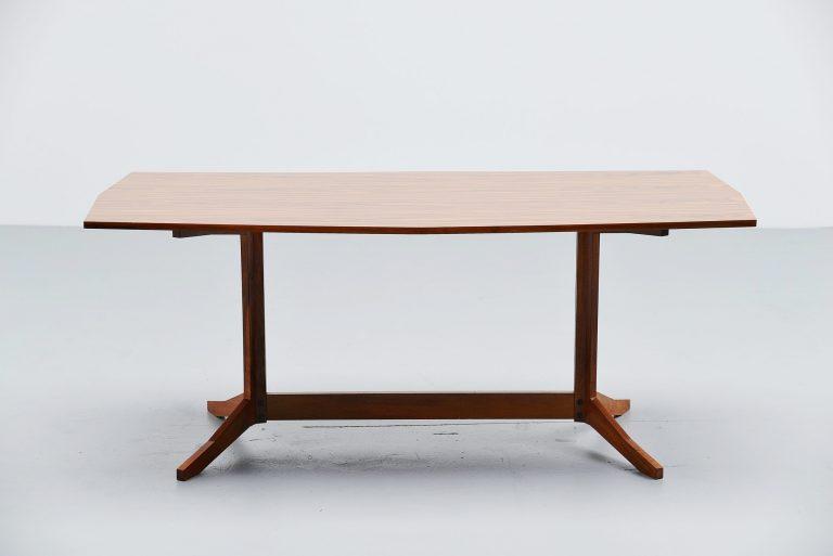 Franco Albini dining table by Poggi Italy 1957