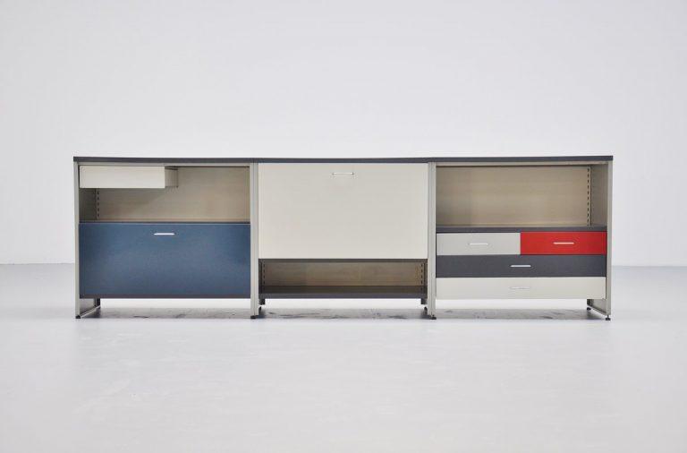 Gispen 5600 sideboard by Andre Cordemeijer 1962