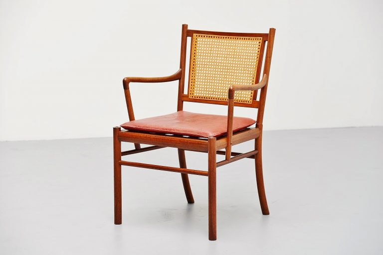 Ole Wanscher Colonial chair Poul Jeppesens Denmark 1960