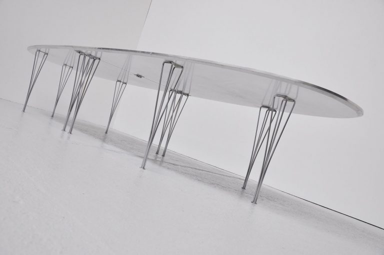 Piet Hein Bruno Mathsson super Ellips conference table 1968