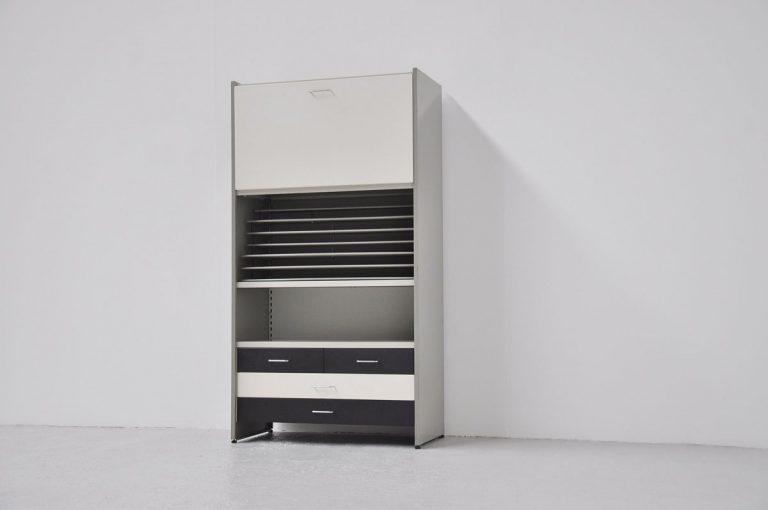 Cordemeijer Gispen 5600 bookcase unit 1962