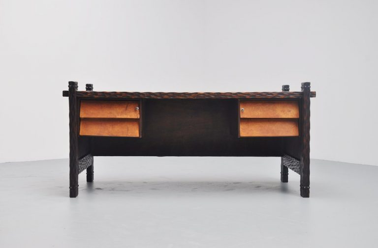 Amazing Brazillian crafted desk Sao Paolo 1970