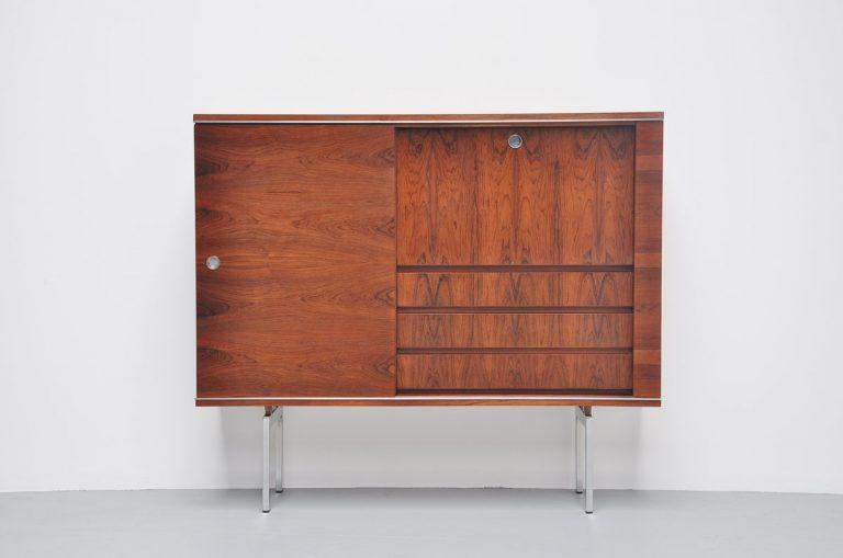 Belgian N-Line licquor cabinet in rosewood 1960