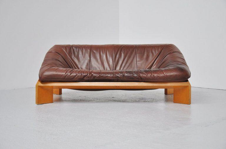 Montis lounge Oslo sofa by Gerard van den Berg 1970