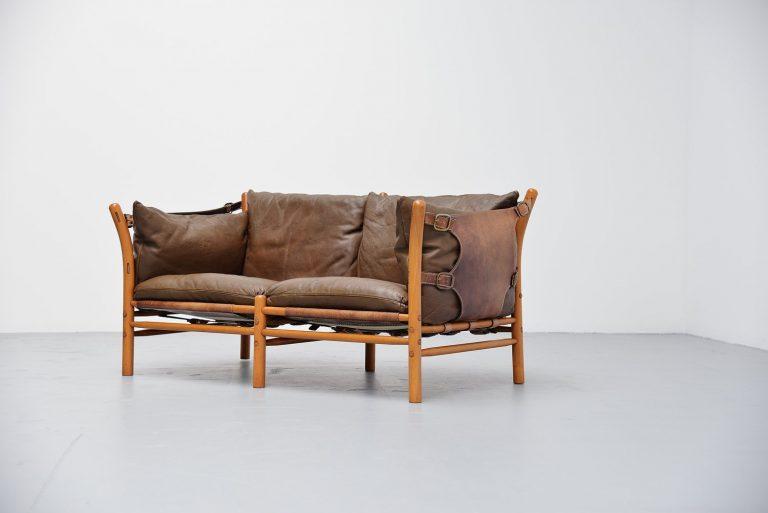 Arne Norell Ilona 2 seater sofa Sweden 1960