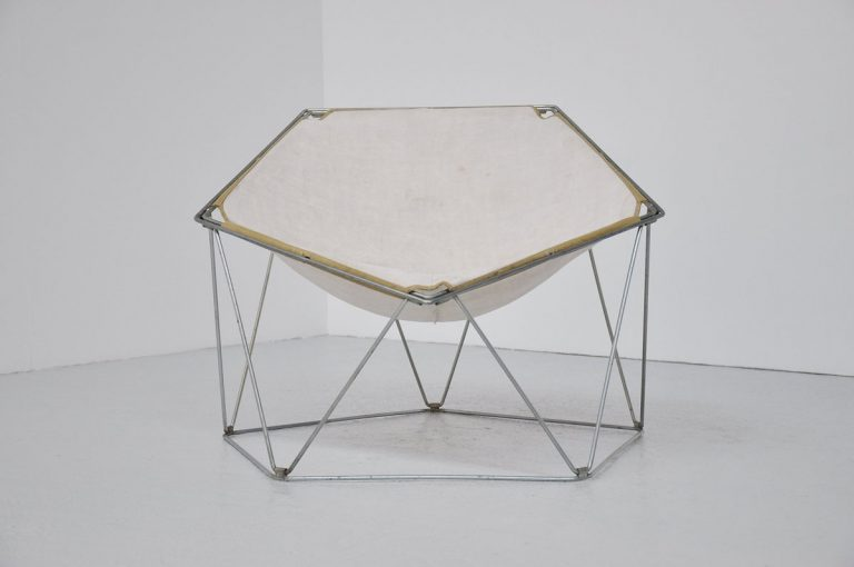 Kom Motzer Jean-Paul Barray Penta chair Bofinger 1968
