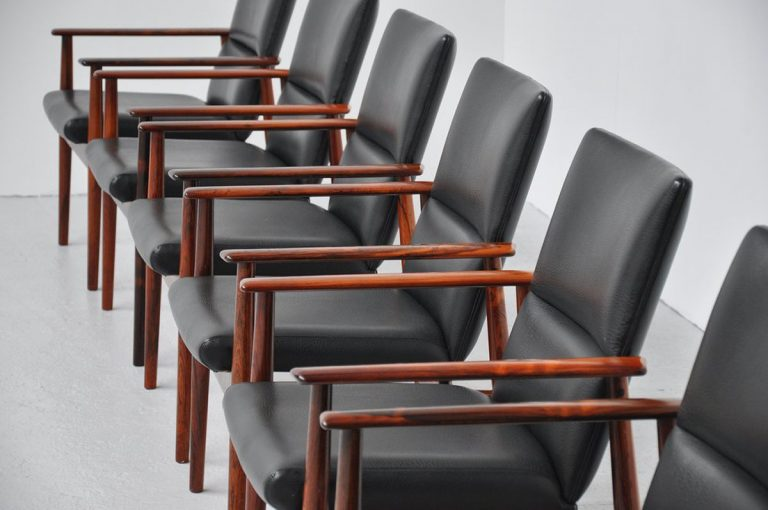 Arne Vodder conference chair set Sibast 1960