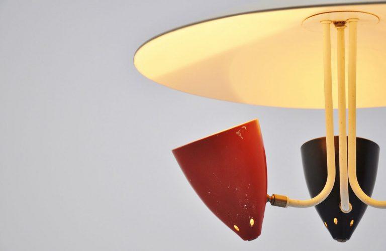 Hala HThA Busquet uplighter lamp 1950