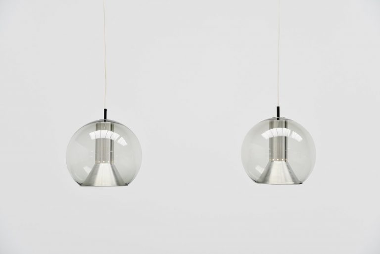Raak Globe XL pendant lamps Holland 1960