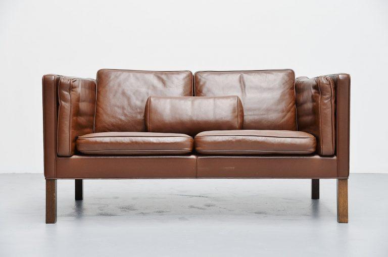 Borge Mogensen sofa 2332 Fredericia Denmark 1971