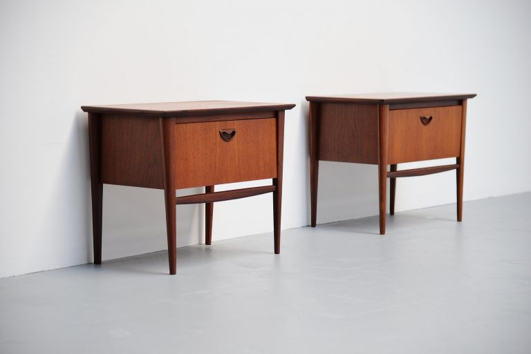 Webe night cabinets Louis van Teeffelen Holland 1960