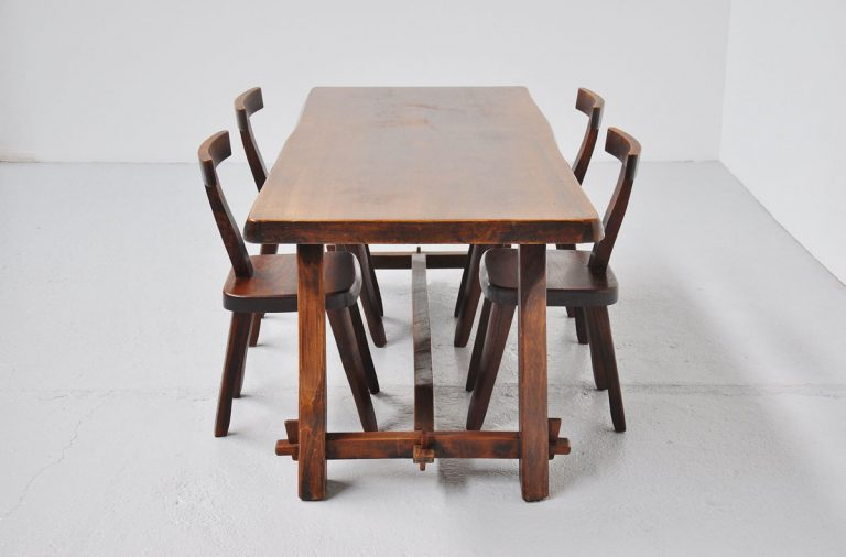 Olavi Hanninen dining table Finland 1959