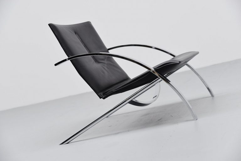 Paul Tuttle Arco lounge chair Strassle 1976