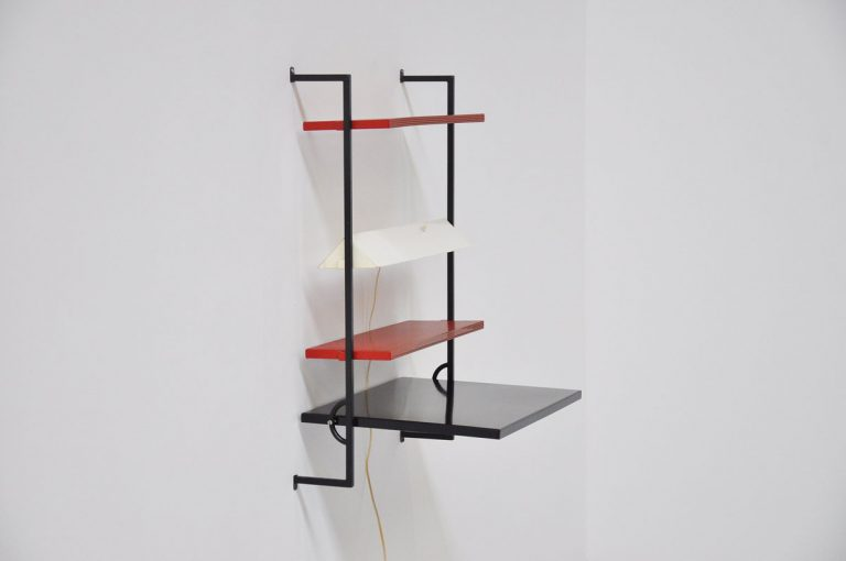 Coen de Vries DEVO folding wall desk 1958