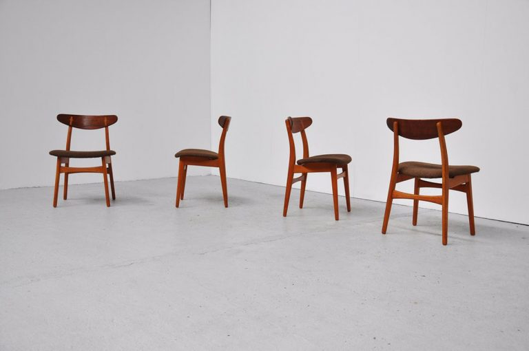 Hans Wegner CH-30 chairs for Carl Hansen