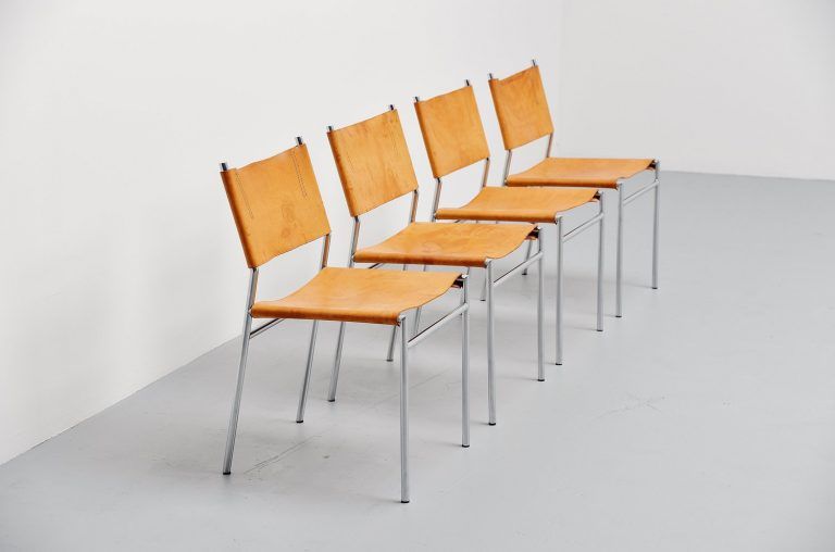 Martin Visser SE06 dining chairs 't Spectrum 1967