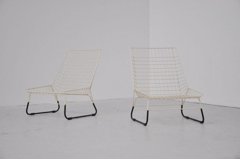 Pastoe skater chairs Holland 1955