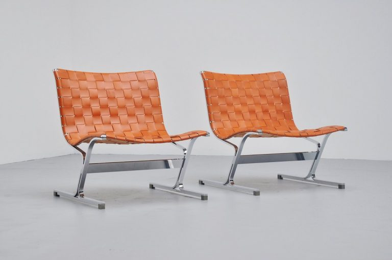 Ross Littel Luar lounge chairs for ICF Italy 1965