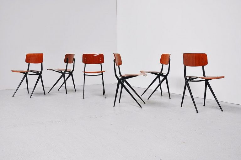 Marko industrial chairs ca. 1970