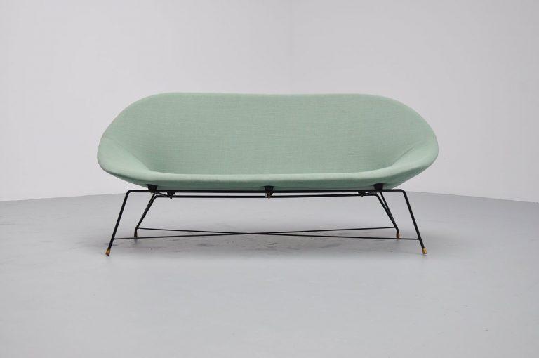 Augusto Bozzi sofa for Saporiti Italia 1954
