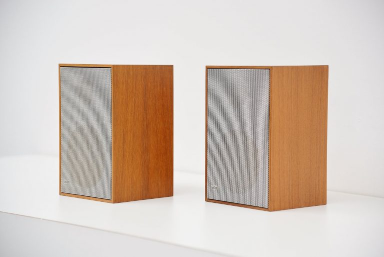Dieter Rams Braun speakers AG L300 Germany 1965