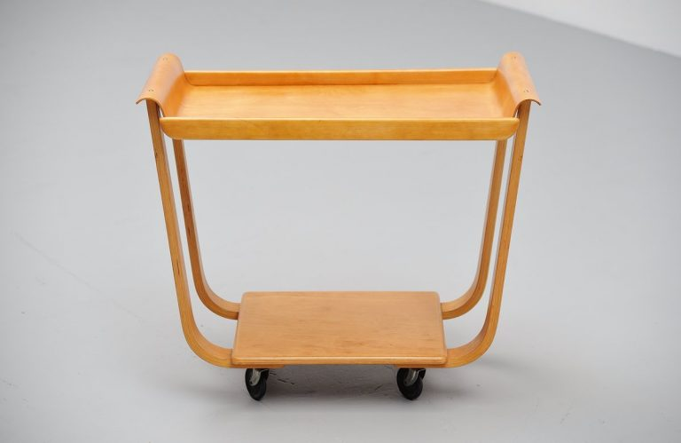 Pastoe Cees Braakman PB01 serving cart 1954