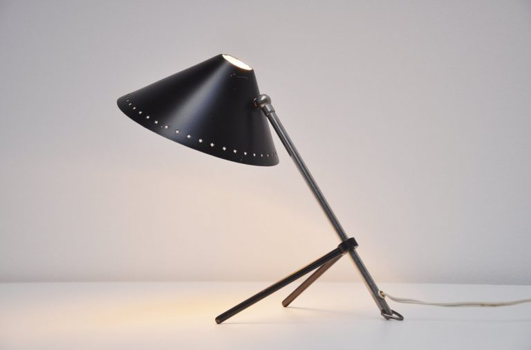 Hala Pinocchio table lamp by Busquet 1955