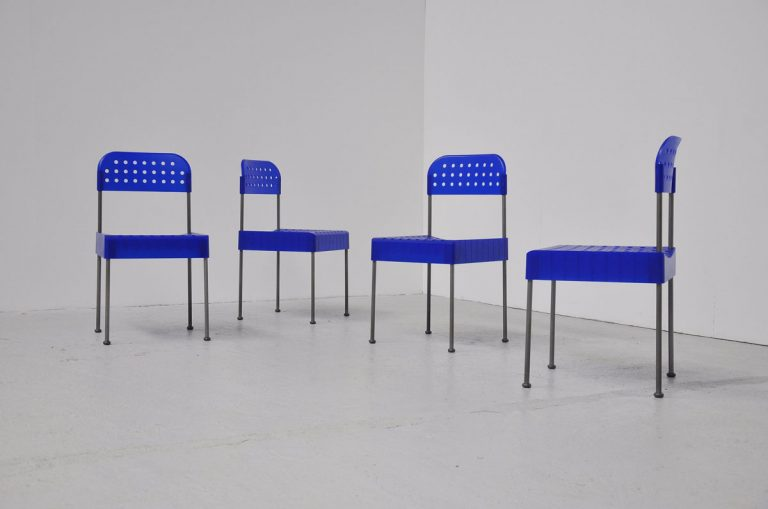 Enzo Mari Box chairs for Driade 1990