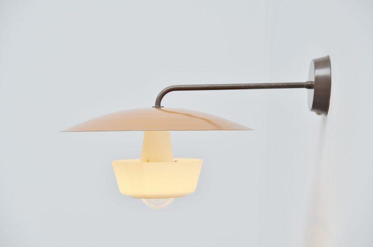 Louis Christiaan Kalff wall lamp Philips Holland 1955