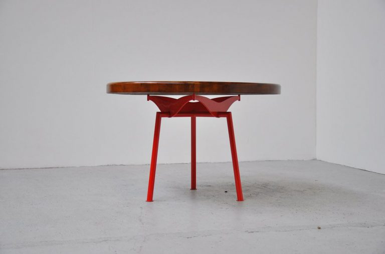 Industrial Prouve quality dining table 1950