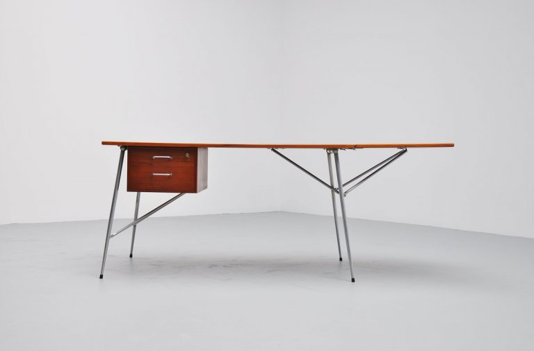 Borge Mogensen drop leaf desk by Soborg Denmark 1950