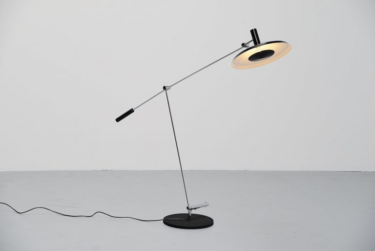 Rico and Rosemarie Baltensweiler floor lamp Switzerland 1951
