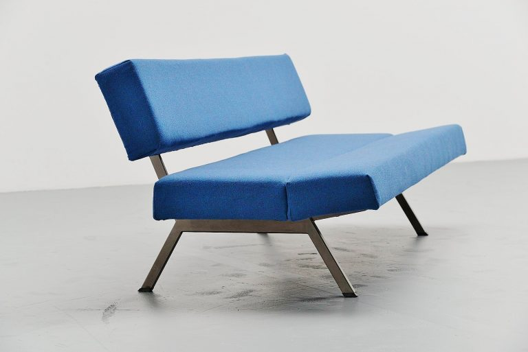 Dutch modernist daybed sofa 1960