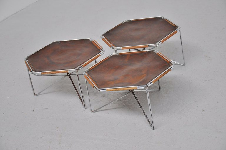 French side tables set 1970