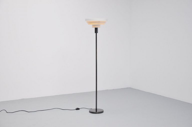 Impressive Danish floor lamp Alvar Aalto 1960