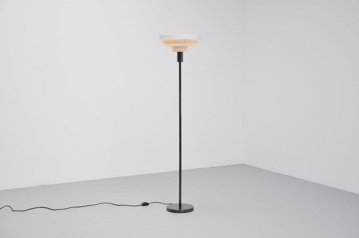Impressive danish floor lamp alvar aalto 1960 massmoderndesign impressive danish floor lamp alvar aalto 1960 aloadofball Image collections
