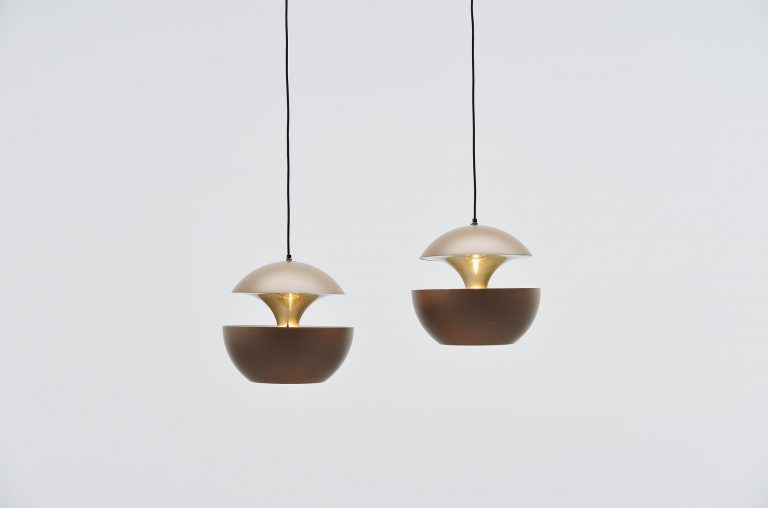 RAAK pendants Fontaine Jaillissante by Betrand Balas 1970
