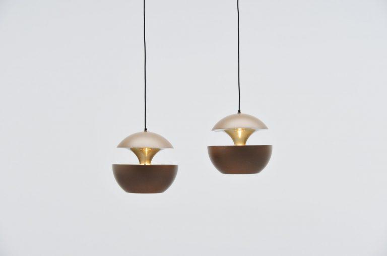 RAAK pendants Fontaine Jaillissante by Betrand Balas 1970
