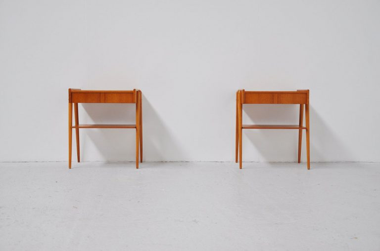 Night stands by Carlstrom Denmark 1960