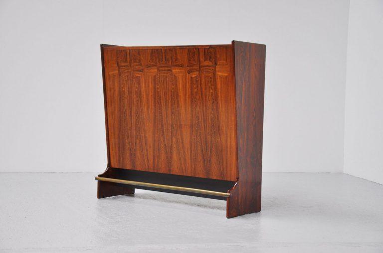 Johannes Andersen rosewood bar cabinet 1960