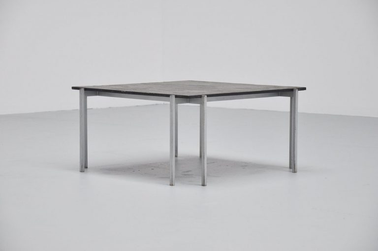 Modernist coffee table made in Holland 1960