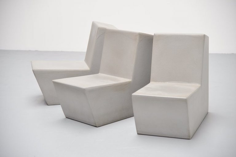 Quinze & Milan Primary solo chairs Belgium 1999