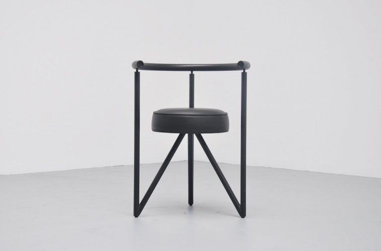 Philippe Starck Miss Dorn chair Disform France 1982