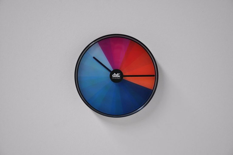 Clock by Rob Juda for M clock 1970