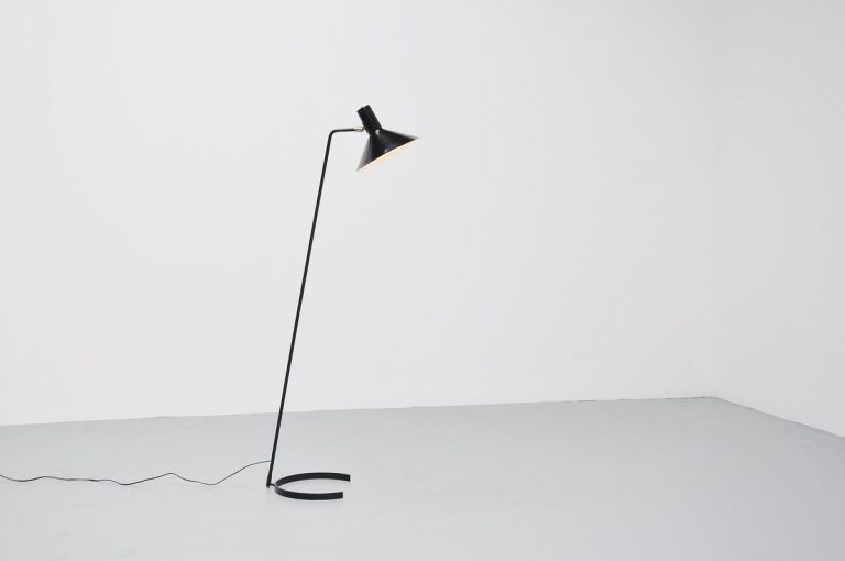 JJm Hoogervorst floor lamp for Anvia Almelo 1960